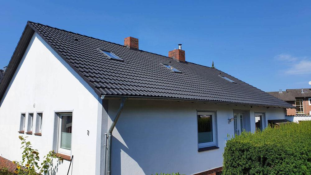 Chantier aprés nettoyage de la toiture