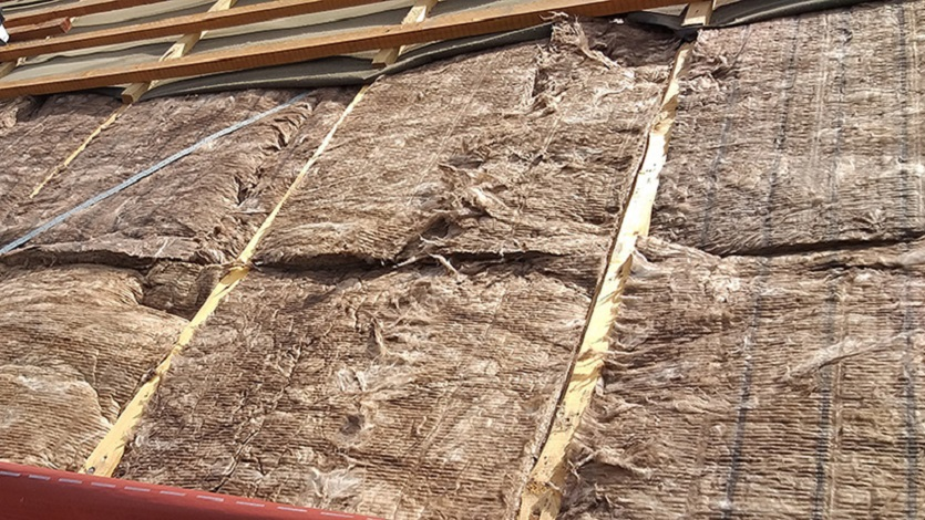 Travaux d'isolation de toiture